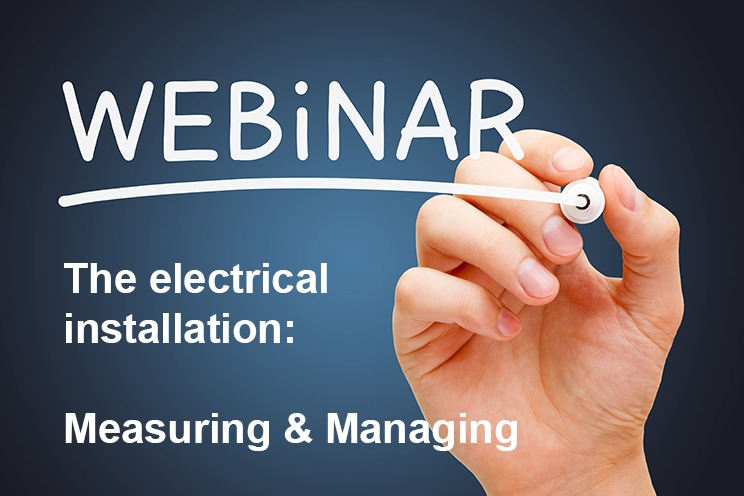 HyTEPS online seminar; measuring and managing electrical installations